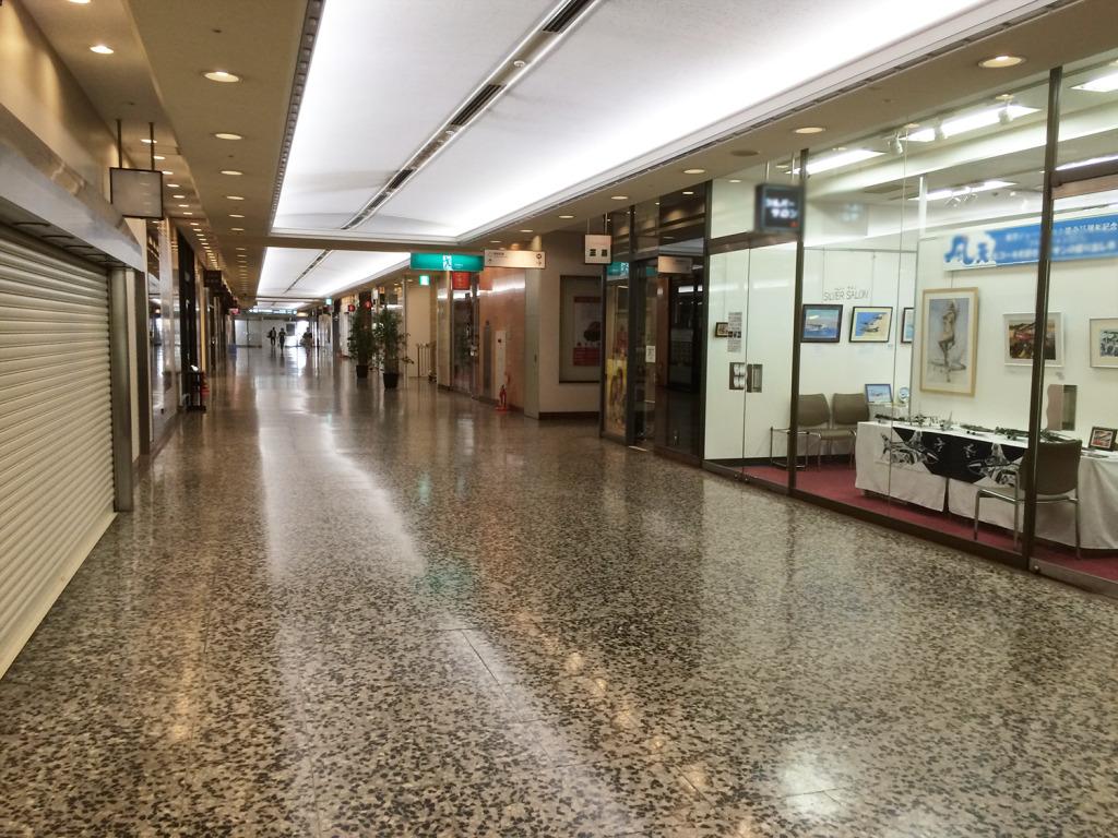 通学でいつも通る東京交通会場の地下。ここに昔ゲームセンターなかったっけ?