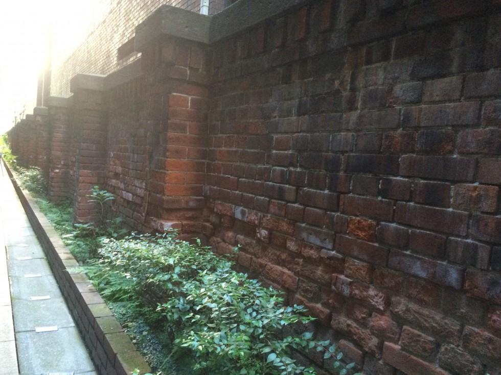 お気に入りの学校の内壁