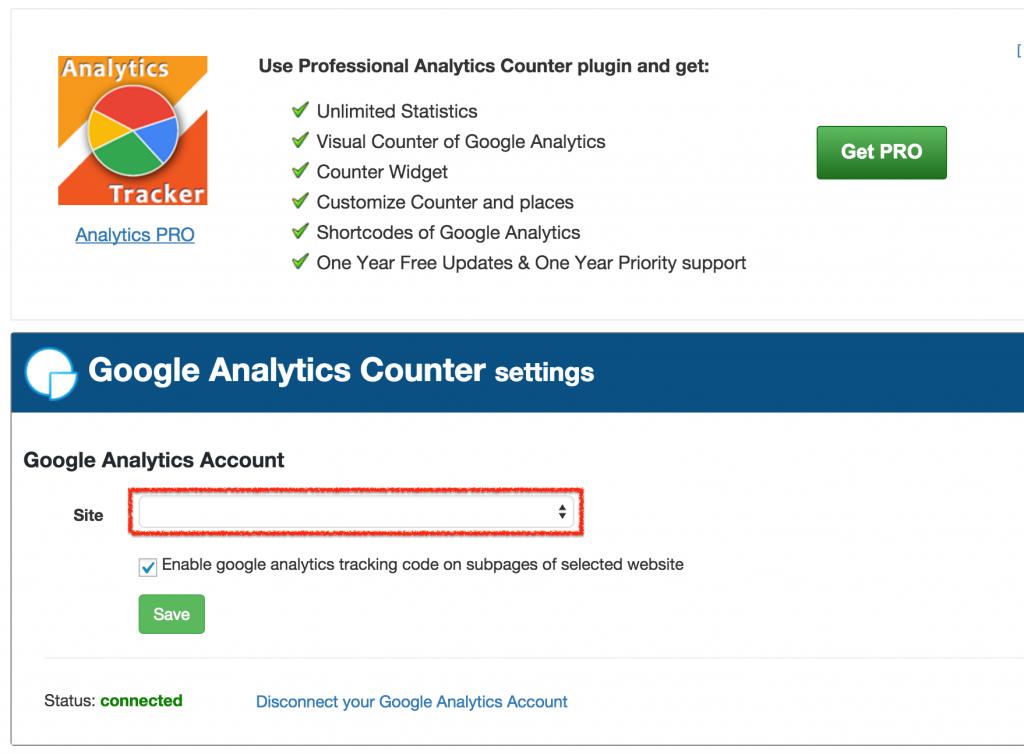 WordPressプラグイン GoogleAnalytics で分析10
