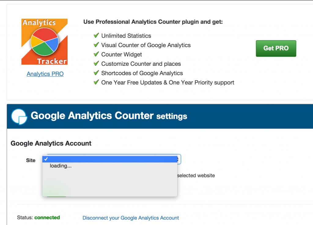 WordPressプラグイン GoogleAnalytics で分析11