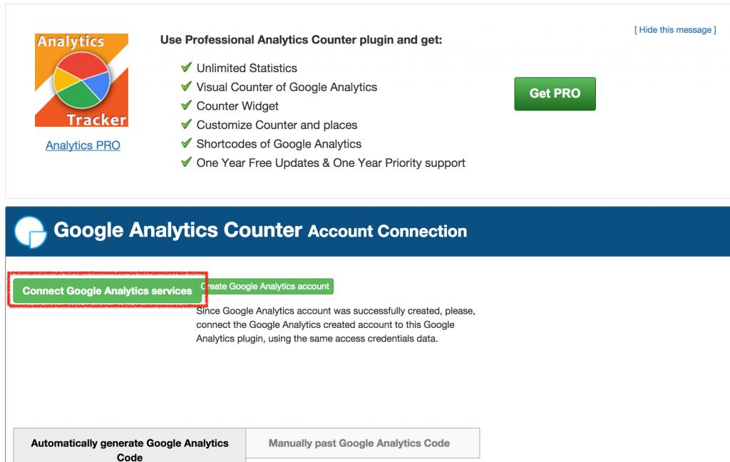 WordPressプラグイン GoogleAnalytics で分析9